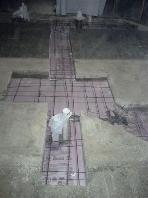 Updated Plumbing Under Concrete Slab Floor   Concrete