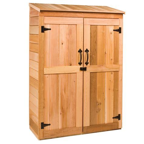 shop cedarshed engineered wood storage shed common 2 ft