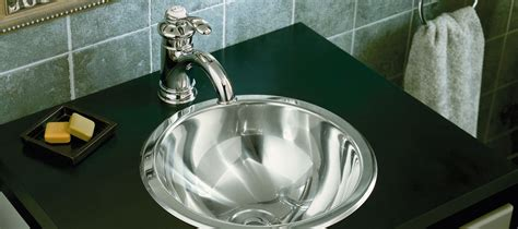 Stainless Bathroom Sinks by Stainless Steel Bathroom Sinks Bathroom Kohler