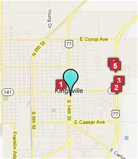 map of kingsville texas kingsville tx hotels motels see all discounts