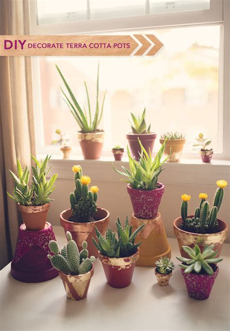 How To Decorate Pot by Diy Terra Cotta Pots