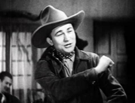 film cowboy texas tex ritter singing movie star in b westerns trouble in