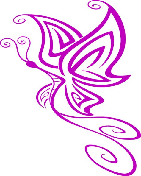 Small Butterfly Clipart small purple butterfly clip at clker vector clip