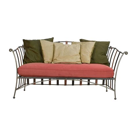 Wrought Iron Daybed 90 Custom Made Wrought Iron Daybed Sofa With Silk Pillows Sofas