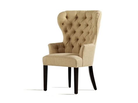 Dining Wing Chair Charles Dining Room Garbo Tufted Dining Arm Chair 1918 T Mcarthur Furniture Calgary
