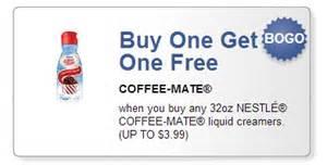 Coffee Mate BOGO Coupon 2014