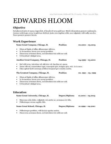 Usa Resume Template by Stand Out With These 15 Modern Design Resume Templates