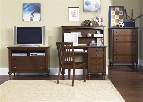 youth bedroom sets with desk liberty furniture abbott ridge youth bedroom student desk