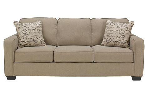 ashley loveseat sleeper alenya collection 16600 ashley sofa loveseat set