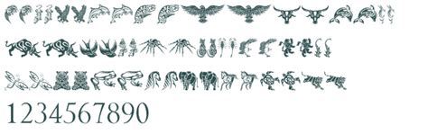 tattoo dragon font apps for editing faces tribal dragons tattoo designs font