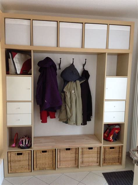 expedit garderobe 12 best images about garderobe on ikea hacks