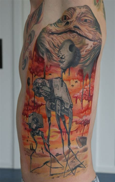 dali tattoo melty like salvador dali wars