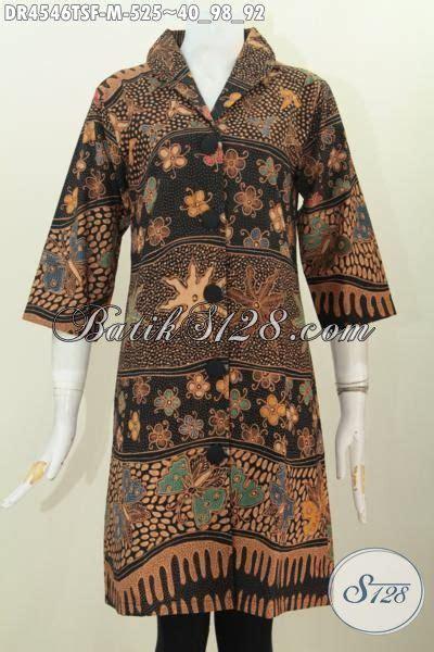 desain baju batik kantoran busana batik wanitas muda kwalitas mewah baju dress