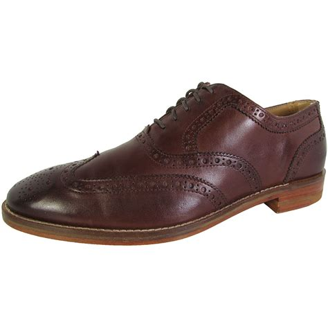 mens oxford dress shoes cole haan mens cambridge wingtip oxford dress shoes ebay