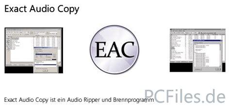 arbeiten mit exact audio copy eac exact audio copy jp freeware