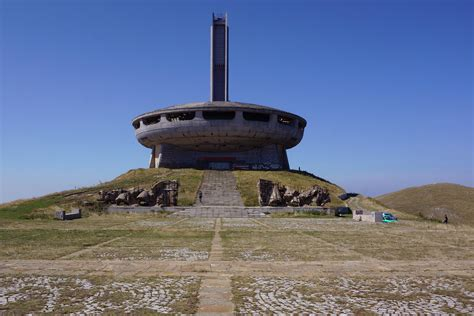 Search Bulgaria Bulgaria S Ufo The Spell Of The Abandoned Buzludzha Monument Lonely Planet