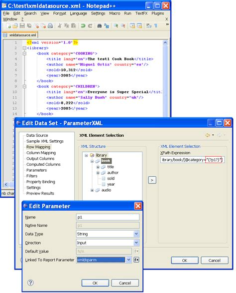 birt xml datasource tutorial new and notable features within birt 2 5 milestone 7 the