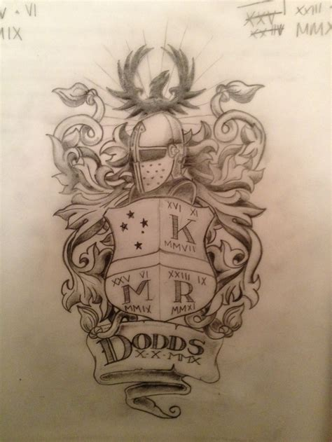 crest tattoo designs family crest tattooene