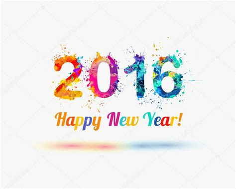 happy new year 2015 vector free congratulation vector card happy new year 2016 stock