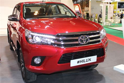 Model Cv 2016 by Toyota Hilux 2016 Model At The Cv Show 2016 Commercial