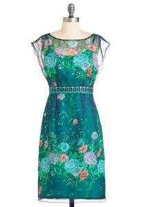 Garden Attire Water Garden Dress