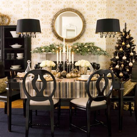 dining room table decorating ideas for christmas gallery