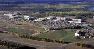 Campus map aerial view university of mary