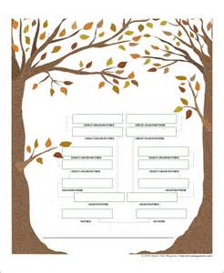 blank family tree templates sle blank family tree 8 exles in word pdf