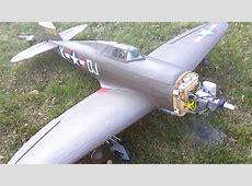 Hangar 9 p47 Razorback Evokution 20cc - YouTube P 47d Thunderbolt