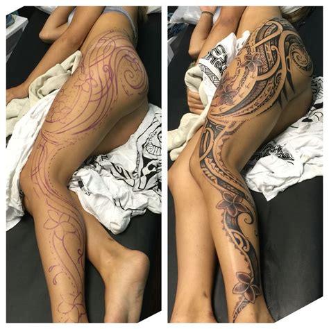 tattoo freehand pen best 25 full leg tattoos ideas on pinterest girl leg