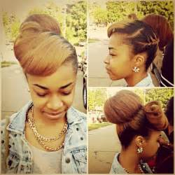 big theory hair bun 33 best black women high bun hairstyles images on