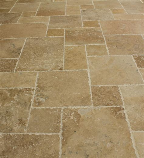 builddirect travertine tile antique pattern travertine