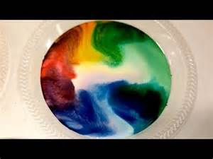 milk food coloring milk food coloring and dish soap experiment