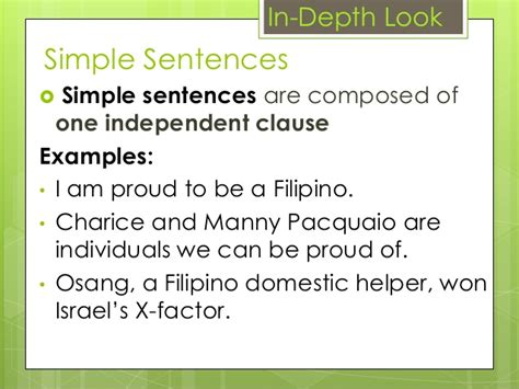 the simple secrets of sentence variety types of sentence according to structure
