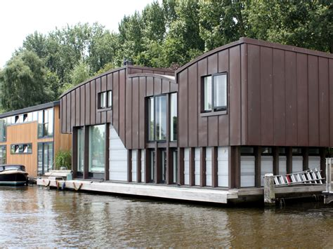 woonboot eindhoven woonboot in de schinkel beelen cs architecten