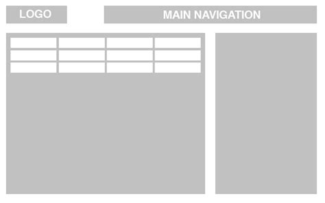 layout design navigation item how to layout a page with very long list of sub navigation