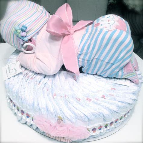 Cake Diapers Baby Shower by Custom Lil Cupcake Baby Cake For A Baby