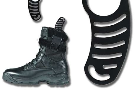 how to wear a boot knife side kick boot knife products magazine