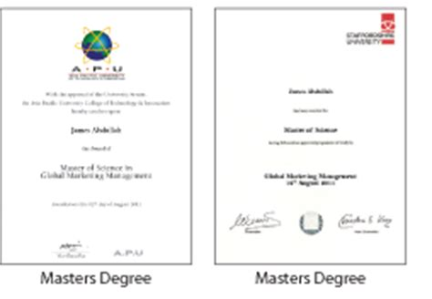 Masters Joint Engineering Mba Programs by Dual Masters Degree Programmes Asia Pacific Apu