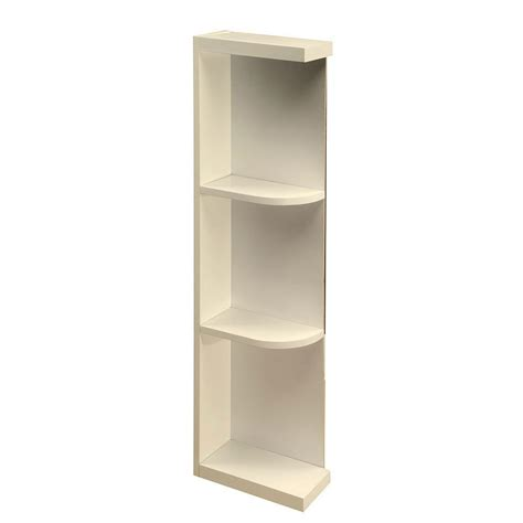 base wall end cabinet shelves add style to your kitchen home decorators collection 12x34 5x24 in newport