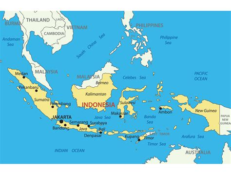 printable peta indonesia indonesia map with cities blank outline map of indonesia