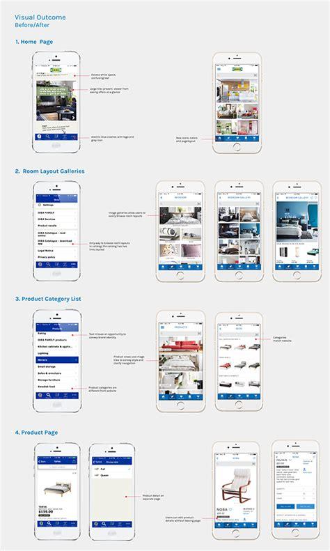 ikea app redesign concept on behance ikea app redesign on scad portfolios