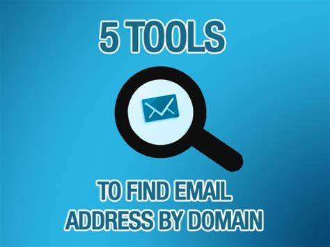 Lookup Email Address By Name Free 5 Tools To Find Email Address By Domain Or Name Web Knowledge Free