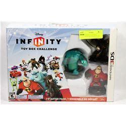 infinity for nintendo 3ds disney infinity box challenge for nintendo 3ds