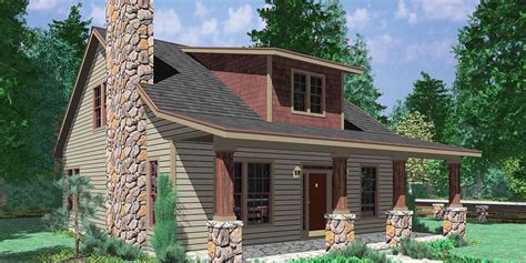 Walkout Basement Design by 1 5 Story House Plans 1 1 2 One And A Half Story Home Plans