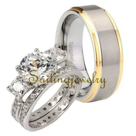 tungsten wedding rings ebay