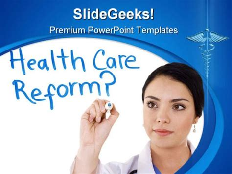 Health Care Reform Science Powerpoint Template 0610 Health Care Free Ppt Templates
