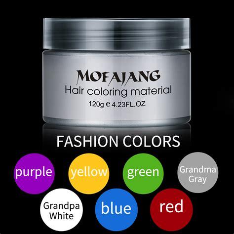 Pomade Warna mofajang pomade wax rambut warna 120g gray