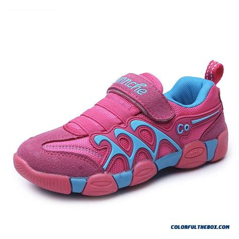 kids comfortable shoes cheap kids sports shoes girls casual running shoes velcro