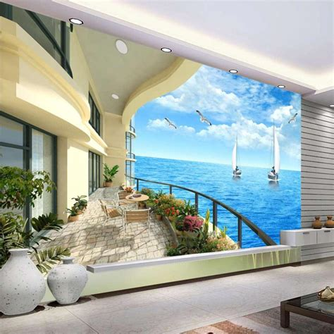beach murals for bedrooms where do beach wall murals suit best decor things